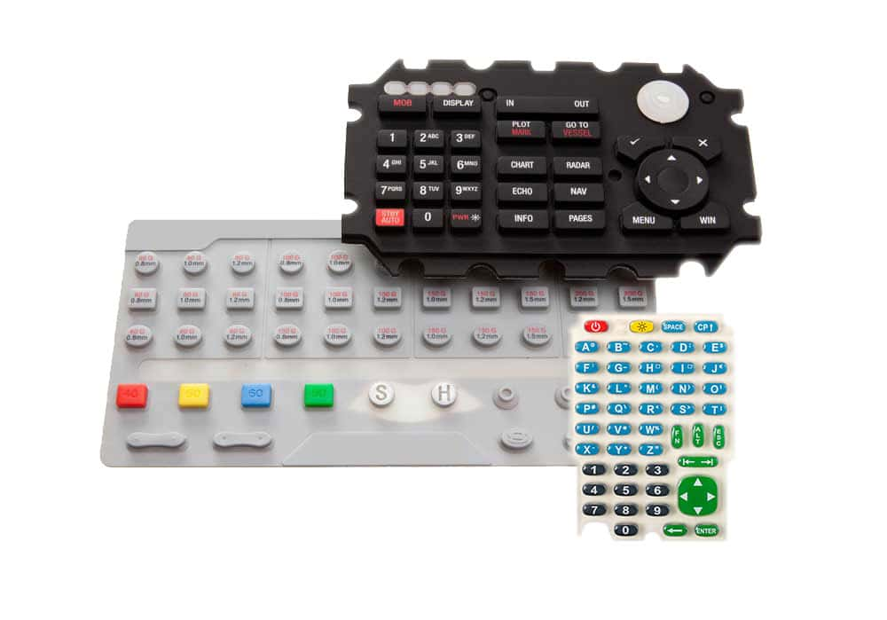 rubber keypad switches manufacturers