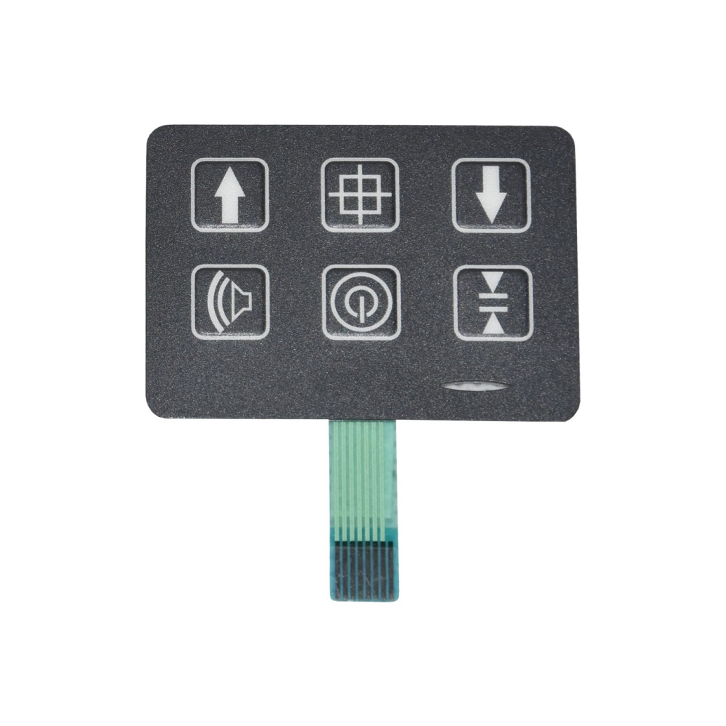 Membrane Switch Assembled with Optical PC Lens 2021