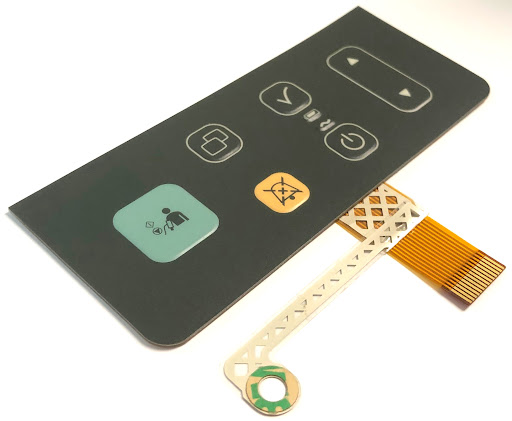 Membrane switch assembled with touchscreen 2021