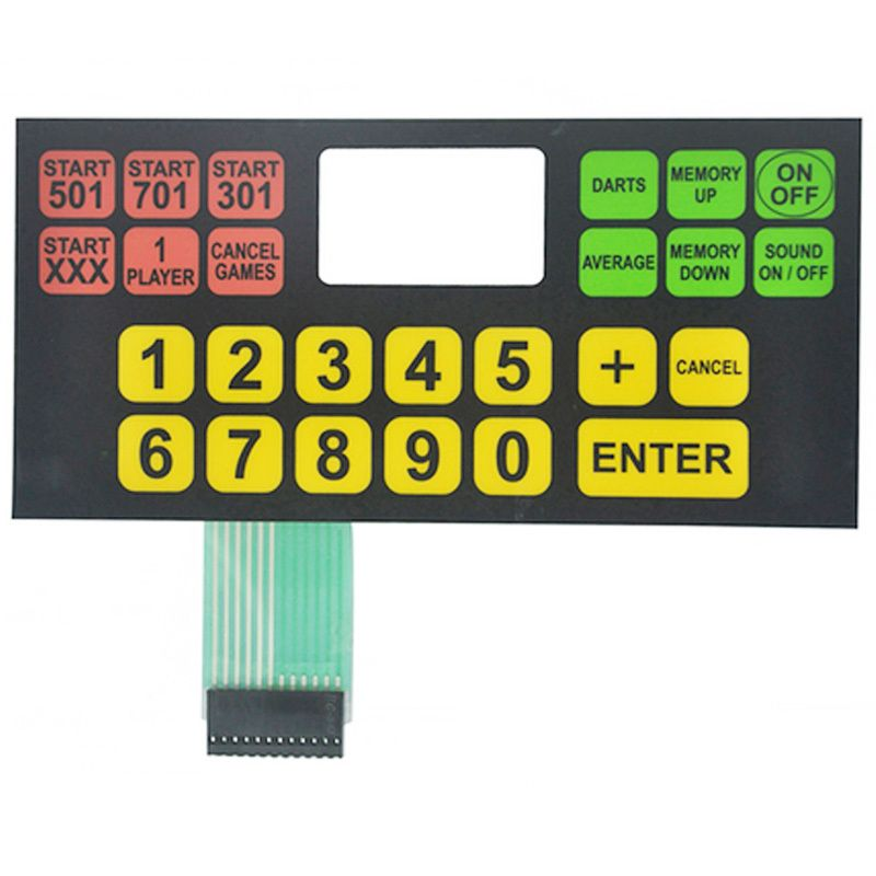 Tactical Membrane Switch 2021