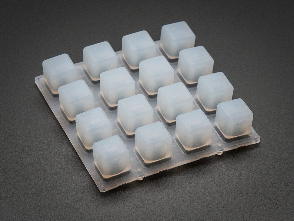 replacing silicone rubber keypad with a mechanical switch